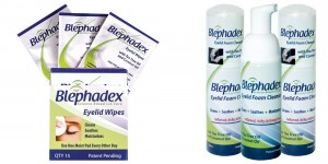 Blephadex Wipes and Foam Blepharitis Treatment