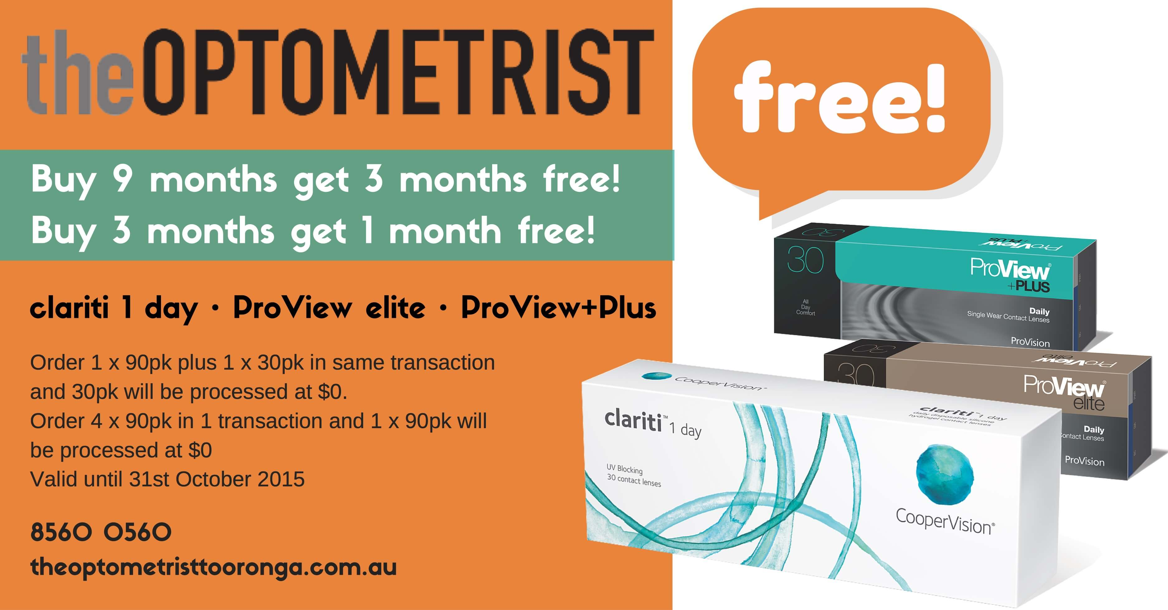 Free Daily Disposable Contact Lenses Offer