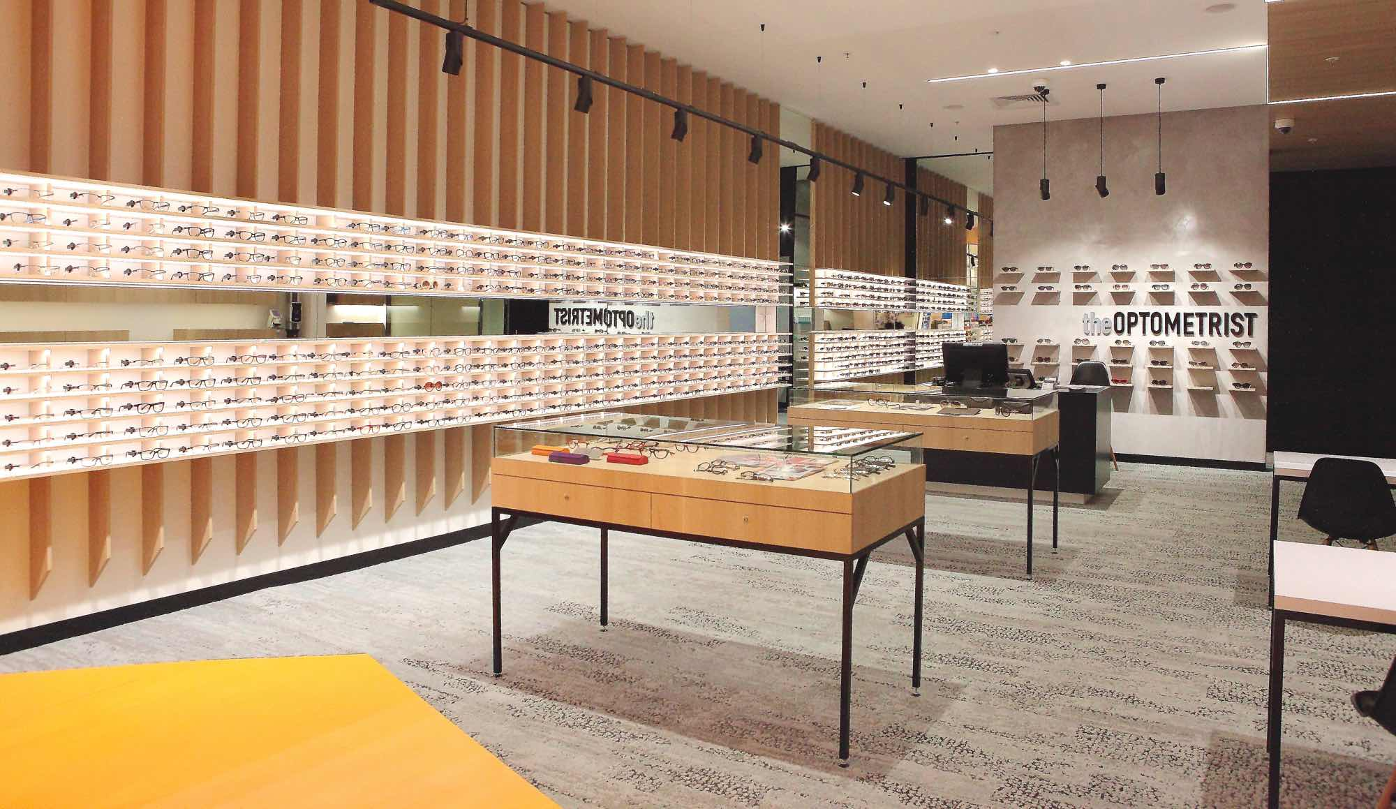 The Optometrist Interior Store Image