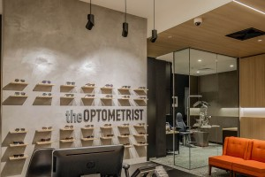 The Optometrist Tooronga Reception